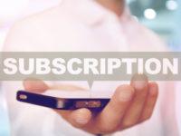 サブスクリプション 定額制サービス Subscription service app